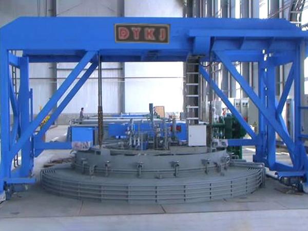井式炉生产线
