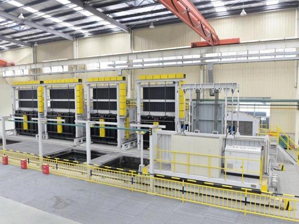 叉车炉调质热处理生产线