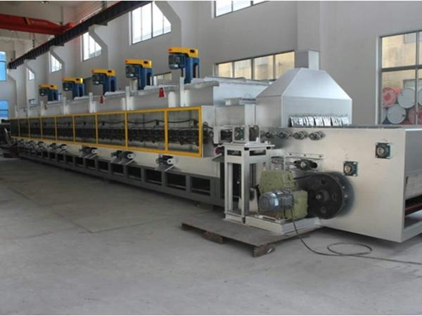 网带式加热炉生产